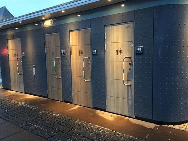 باتھ روم کا دروازہ بھی الگ-- وہ 9 تصاویر جو ظاہر کرتی ہیں کہ سوئیڈش قوم کتنی تہذیب یافتہ ہے؟ 5