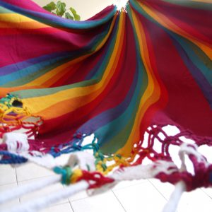 hamac brésilien tissu solo