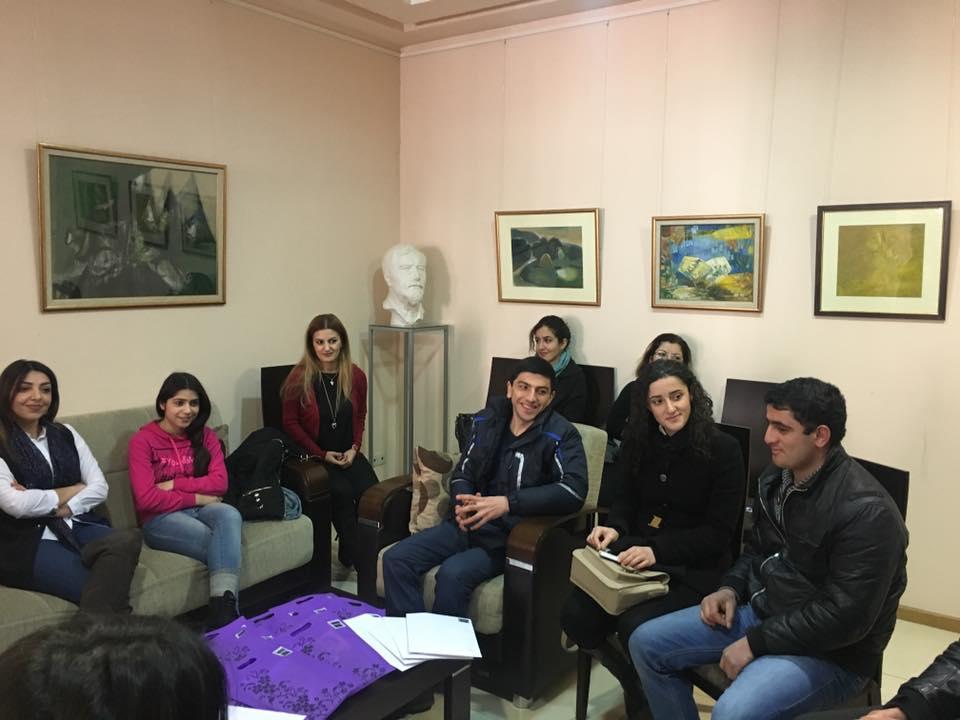 Book Presenting Day in Hamazkayin (Armenia)