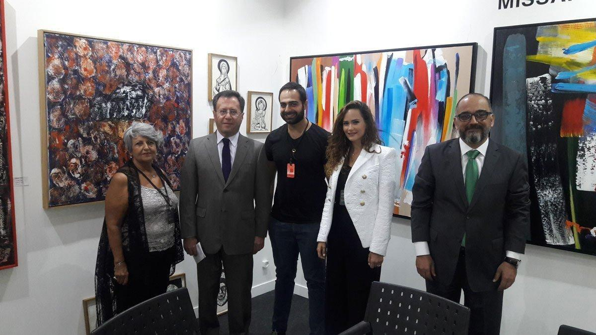 Hamazkayin Lucy Tutunjian Art Gallery Participated in  Beirut Art Fair (Lebanon)