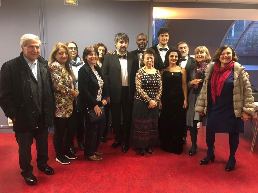In Paris, a Classical Concert Marks Hamazkayin 90th Anniversary