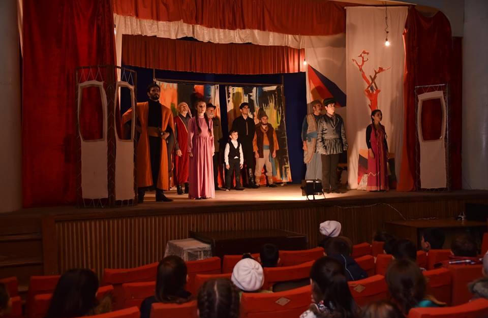 Hamazkayin Takes Theater to Artsakh's Villages