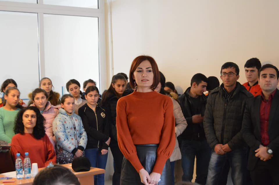 Vaghuhas Community School in Artsakh Hosts Quiz Bowl and Party