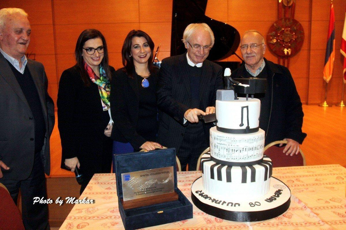 Composer Tigran Mansurian Visits Beirut, His Birthplace