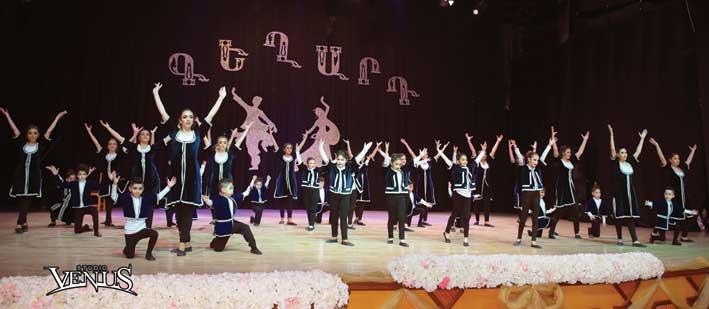 Keghart Dancers Perform in Latakia