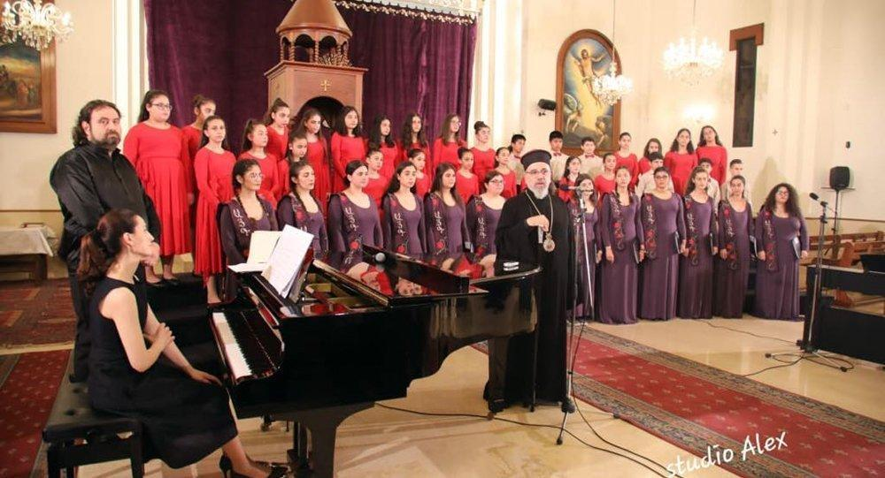 Ayk Choir Performs Spiritual Music in Lebanon
