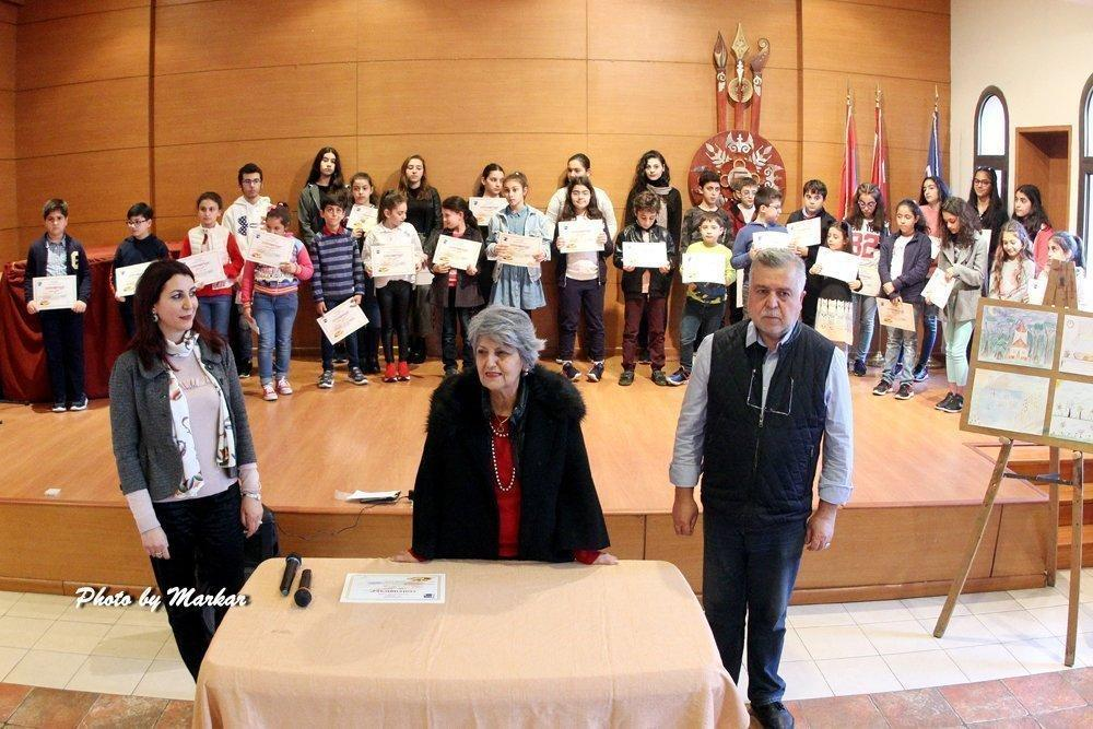 Drawing Contest Between Schools Takes Place in Lebanon
