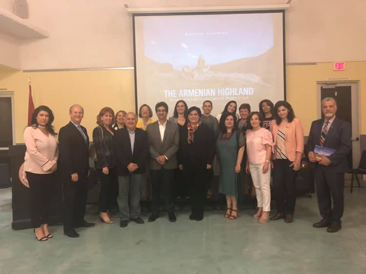 "In Glendale, ""Journey to the Homeland"" Shown and ""The Armenian Highland"" Launched"
