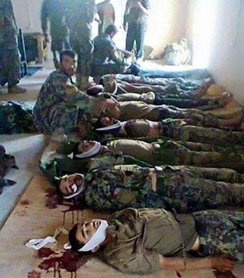 کشته شدن سربازان اردوی ملی در بدخشان