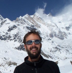 Me in the Himalayas