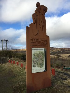 Blaenavon World Heritage Site Sign