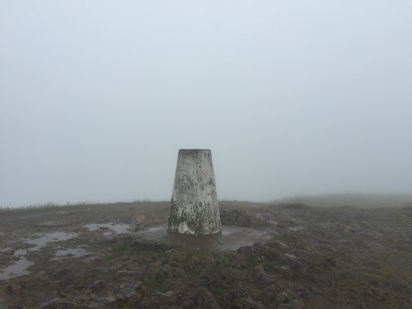 Trigpoint at Summit - TP0724 - Malvern