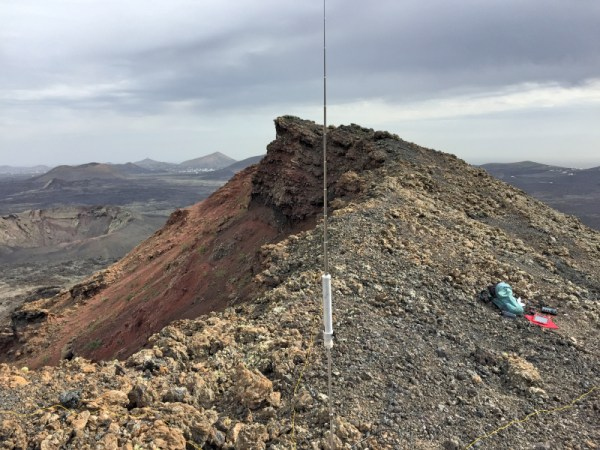 SuperStick Antenna ready to go volcanic