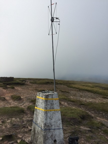 2m Moxon Made from Spares on the SOTA summit of Fan Brycheiniog (GW/SW-003)