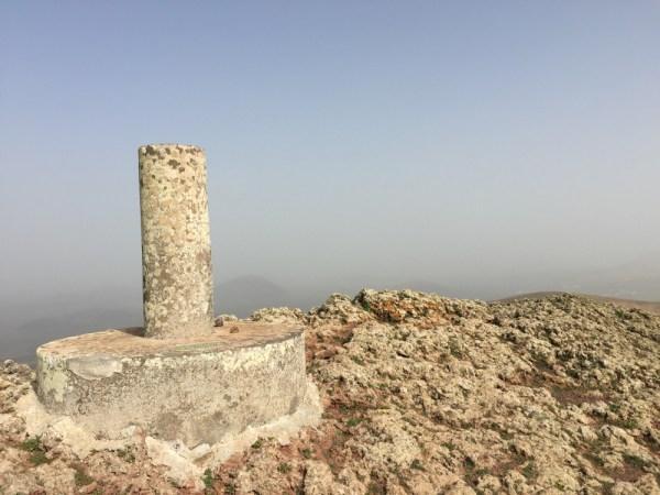 The trigpoint on Guardilama