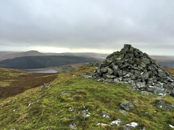 Summit Cairn on Drosgol