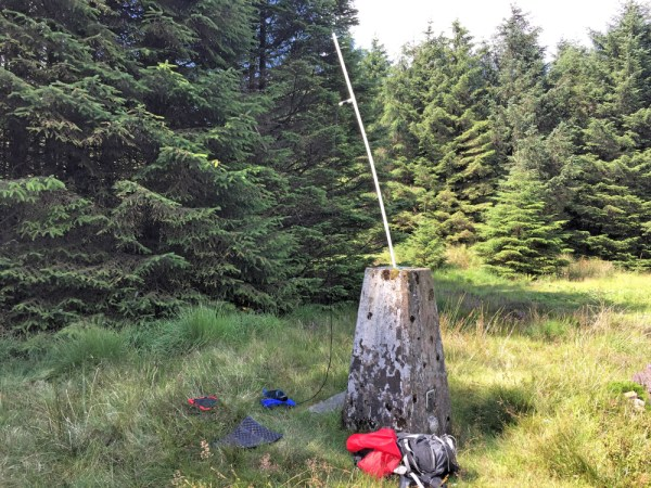 Using the Trig to support the 2m vertical