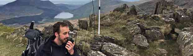 VHF SOTA Expedition in the Snowdonia National Park