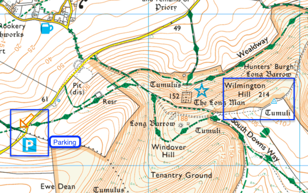 Map of Wilmington Hill Summit