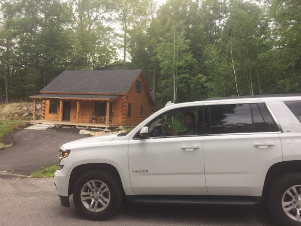 Our transport and log cabin accommodation