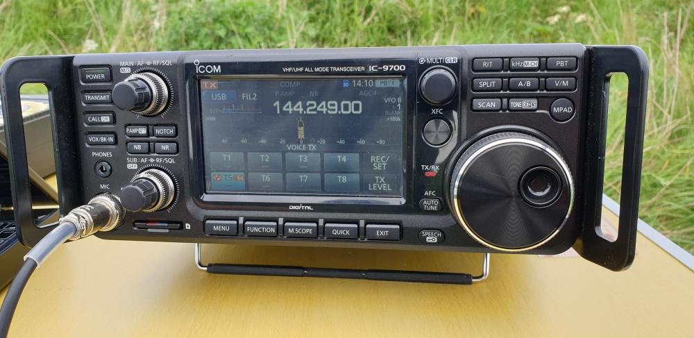 ICOM 9700 on 2m
