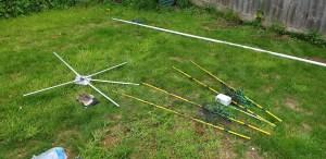 AWK Cobweb antenna parts