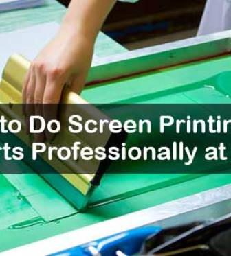 6dfe4c6e How to Do Screen Printing on T-shirts Professionally at Home