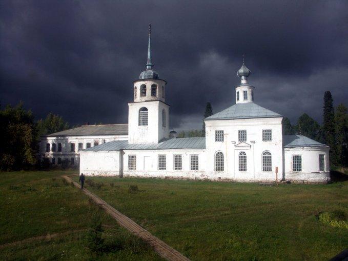 Артемие-Веркольский монастырь. Фотография Сосниной