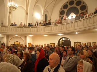 Пасха 2009. Ночное богослужение