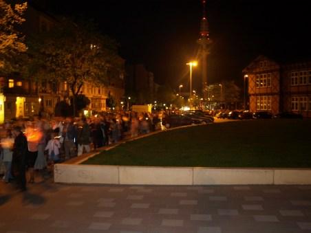 Пасха 2009. Ночное богослужение. Крестный ход