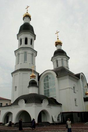 Восстановленный храм во имя Успения Божией Матери