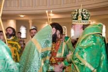 Священник Геннадий Сорокопыт награжден правом ношения набедреннка.