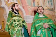 Иерей Дионисий Идавайн, протоиерей Сергий Бабурин