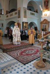 Владыка Феофан на богослужении в Свято-Иоанновском монастыре