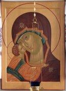 Икона в храме св. прав. Артемия Веркольского