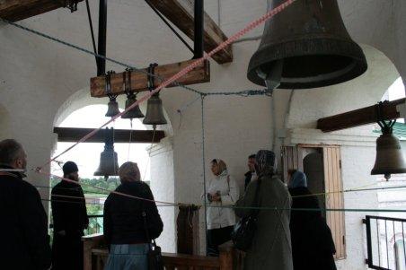 На колокольне. Антониево-Сийский монастырь. Архангельская область