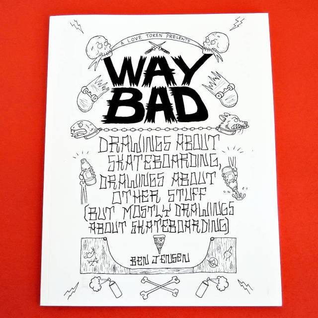 We got copies of Way Bad by @waybad and @alovetoken, get it