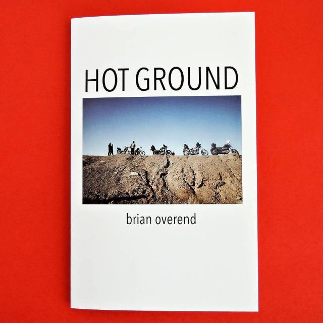 """Hot Ground"" by @brianoverend now available zinekong.com"