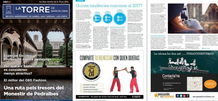Tendencias en RRSS para 2017 - Revista La Torre de Barcelona