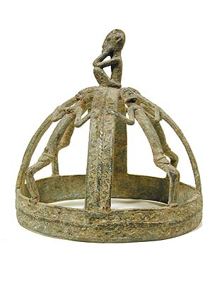 Dogon Metal Crown 23 Mali