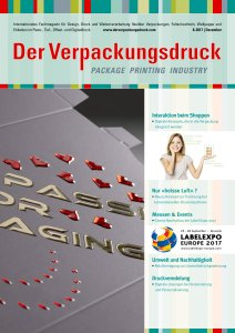 Der Verpackungsdruck Magazine for packaging printing LabelExpo