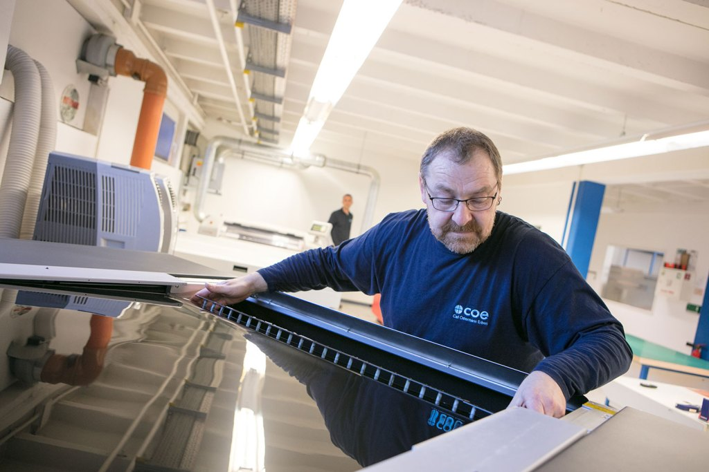 Carl Ostermann Erben (COE) is announced as German trade shop for Bellissima DMS flexo high quality hd printing