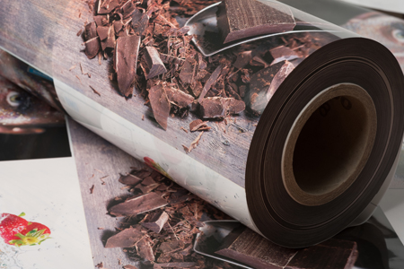 Flexo print - gravure quality - extended colour gamut - fixed palette printing - flexographic