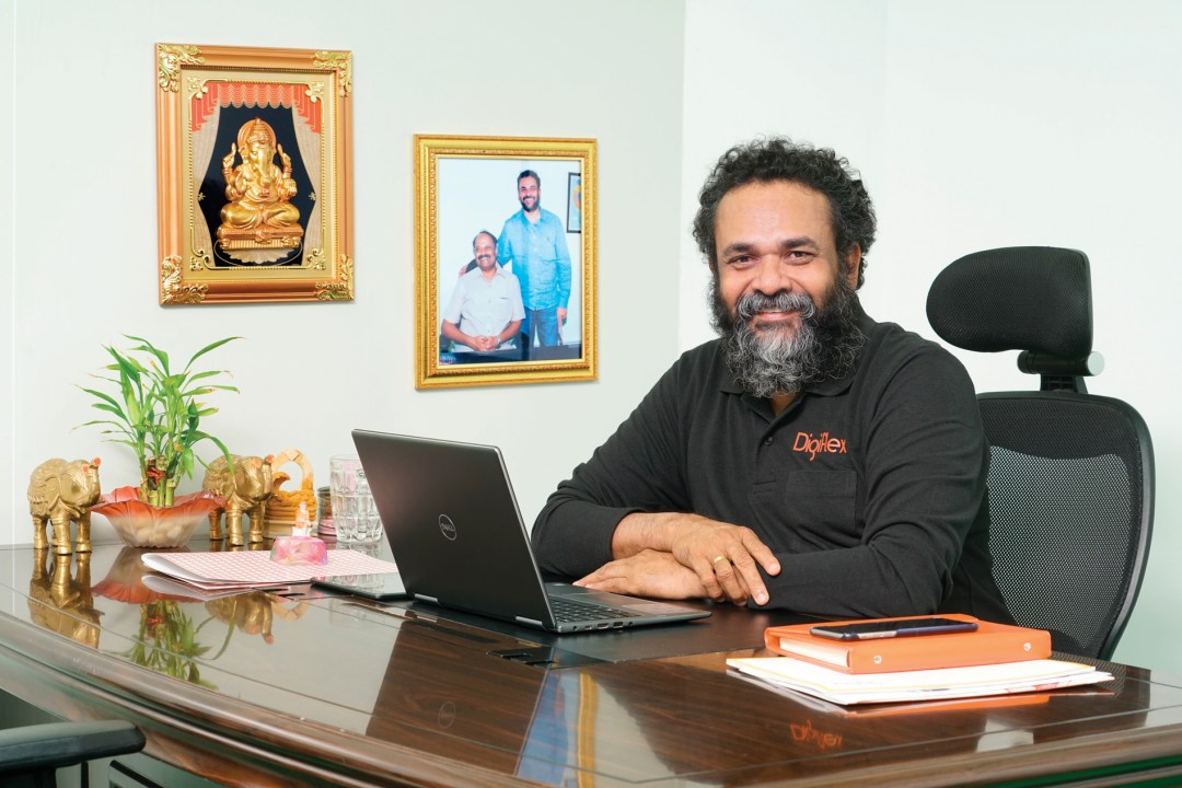 Muralidhar Nalli, Managing Partner, Digiflex India Ultra HD flexo Bellissima