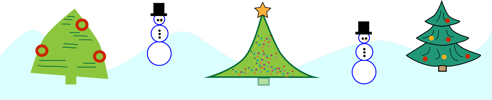Laser Cutout Template Christmas1