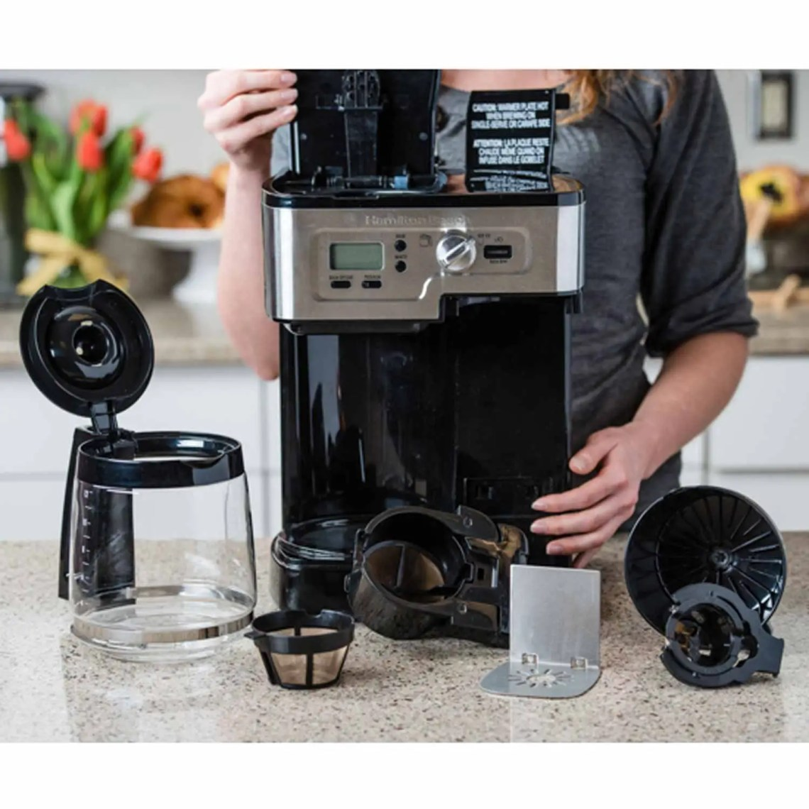 Image Result For How To Clean The Inside Of A Coffee Makera