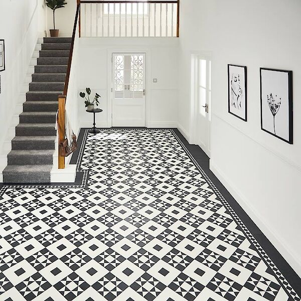 art deco flooring style inspiration