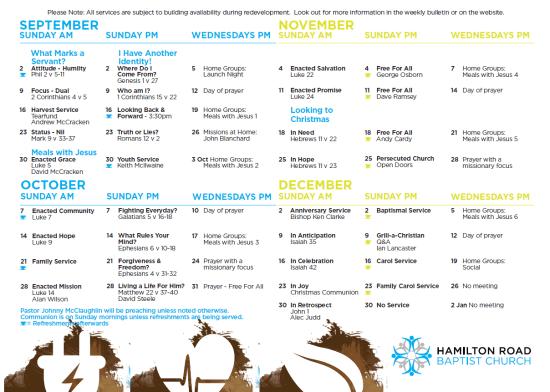 HRBC September to December 2012