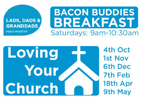 Mens Breakfast, loving your church, Hamilton road Baptist Church