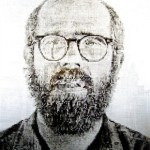 Self Portrait (White Ink)